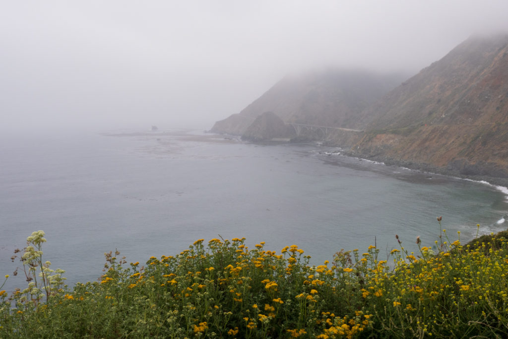 Big Sur in Fog