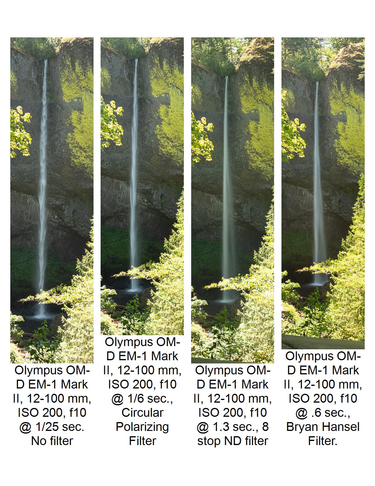 Gorge Filter Samples