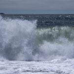 ocean crashing waves
