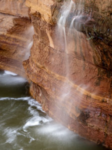 waterfall at Slide Rock State Park